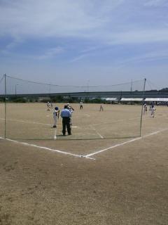 ソフトボールなう。